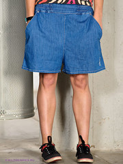 продам женские шорты-юбку хлопок 100% 44-46 б/у