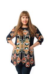 Женская одежда модная большого размера