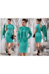 Платье+ жакет артикул - Артикул:  Ам9258-3