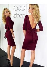 Платье с открытой спиной артикул - Артикул: Ам9259-2