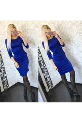 Трикотажное платье футляр артикул - Артикул: Ам9268-1