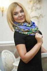 Бесплатно платок-снуд от дизайнера