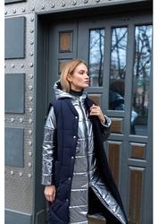 Стеганое пальто и стеганый жилет